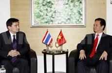 Le PM reçoit des participants d'Asean au WEF sur l'Asie de l'Est