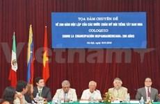 Hanoi : Colloque sur le bicentenaire de l'Amérique latine