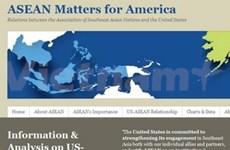 Un site web consacré aux relations Asean-USA