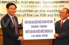 Le VN prêt à aider le Laos à former des auditeurs
