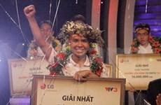 Un lycéen de Hanoi gagne le concours Olympia
