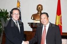 Le VN privilège la coopération avec l'Uruguay