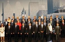 Clôture du Sommet du G20 à Toronto