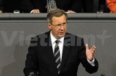 Félicitations au président de l'Allemagne