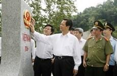La frontière Vietnam-Chine - celle de paix et d'amitié