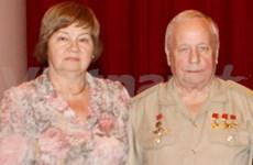Le cosmonaute russe reçu par le vice-ministre de la Défense