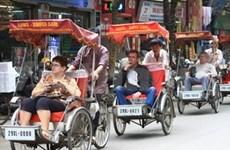Hanoi : reprise de la hausse de touristes étrangers