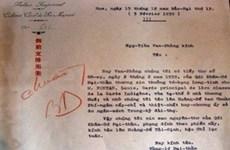 Découverte d'un ancien document relatif à Hoàng Sa