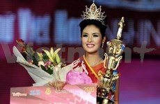 Dang Thi Ngoc Hân, sacrée Miss Vietnam 2010