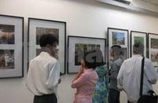 Ouverture d'une expo de photos sur Hanoi