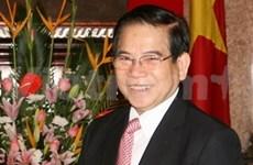 Nguyên Minh Triêt au Laos et au Cambodge