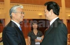 Le PM reçoit le ministre japonais de l'Economie et du Commerce