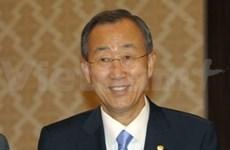 Félicitations du Secrétaire général de l'ONU