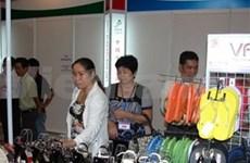 Ouverture de la 12è Exposition internationale du cuir et des chaussures