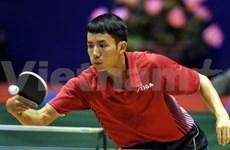 Tennis de table : ouverture de la Coupe VOV 2010