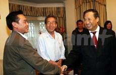 Pham Gia Khiem termine sa visite au Royaume-Uni