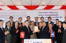 Vietnam-Laos boostent leur coopération intégrale