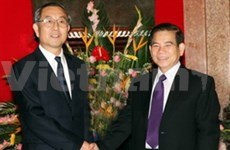 Coopération entre le Guangxi et des localités vietnamiennes