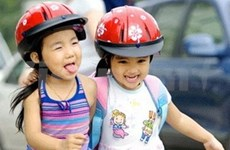 Transport : port du casque obligatoire pour les enfants