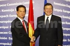 Le PM s'entretient avec le président de la CE
