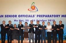 1ère réunion préparatoire des hauts officiels de l'ASEAN