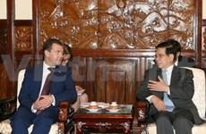 Entretien entre Nguyen Minh Triet et Dmitri Medvedev