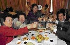 Retrouvailles familiales sépararées entre les deux Corées