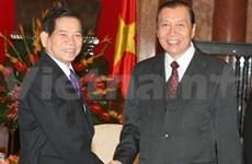 VN-Laos: coopération entre les deux bureaux présidentiels