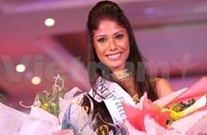 Miss Earth : la reine indienne sacrée Miss Talent