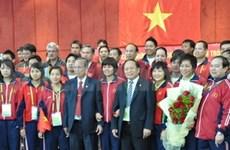 ASIAD 16 : un vice-PM rencontre les sportifs vietnamiens