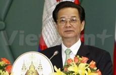Le PM Nguyen Tan Dung à l'ACMECS 4