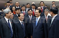 Nguyên Tân Dung au congrès du PCV pour Hai Phong