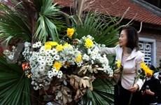 Une présentation de l'Ikebana à Hanoi