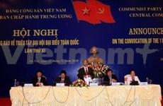 Le 11e Congrès du PCV s'ouvrira le 12 janvier