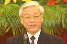 Messages de félicitations au Secrétaire général du PCV