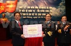 Le PM et le ministre de la Défense rendent visite à la Marine