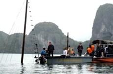 Quang Ninh: ouverture d'une information dans le naufrage d'un navire de tourisme