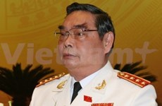 Une délégation du ministère de la Sécurité publique au Laos