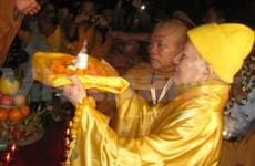 Binh Thuan : accueil de reliques de Bouddha
