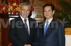 Des dirigeants vietnamiens reçoivent un vice-PM de la Turquie