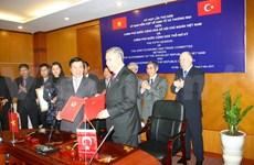 VN-Turquie: réunion du Comité mixte d'économie et de commerce