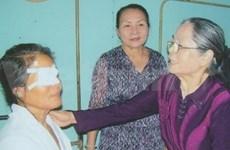 Aide de Dai-ichi Life aux malvoyants démunis de HCM-Ville
