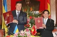 Déclaration commune Vietnam-Ukraine