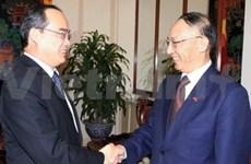 VN et Chine resserrent leur coopération sportive