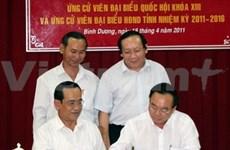 AN: 832 candidats choisis aux élections législatives