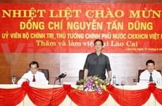 Visite du Premier ministre à Lao Cai et Lai Chau