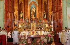 Pâques fêtées à Hanoi