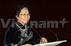 La vice-présidente vietnamienne part pour l'Afrique du Sud