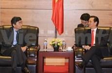 Le PM reçoit des dirigeants à l'occasion de la conférence de la BAD