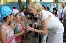 Le gouverneur général d'Australie visite Thua Thien-Hue et Da Nang